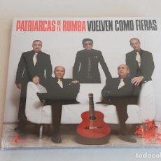 CDs de Música: PATRIARCAS DE LA RUMBA / VUELVEN COMO FIERAS / DIGIPACK-CD-2008 / 11 TEMAS / PRECINTADO.. Lote 248161885