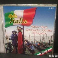 CDs de Música: BELLA ITALIA FELICITA , GLORIA , KALIMBA DE LUNA GERMANY VOL CD PEPETO. Lote 248196930