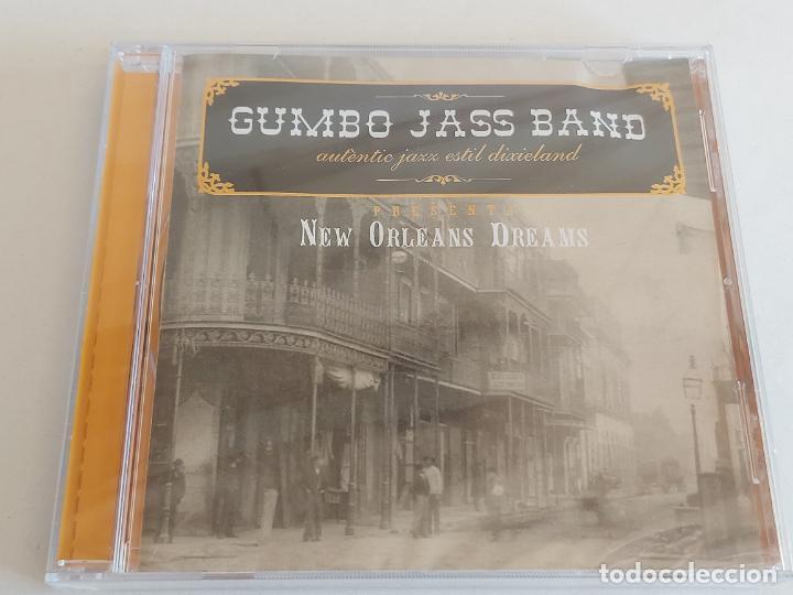 GUMBO JASS BAND / NEW ORLEANS DREAMS / CD - 2005 / 15 TEMAS / PRECINTADO. (Música - CD's Jazz, Blues, Soul y Gospel)