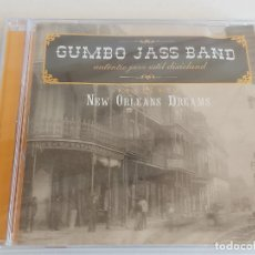 CDs de Música: GUMBO JASS BAND / NEW ORLEANS DREAMS / CD - 2005 / 15 TEMAS / PRECINTADO.. Lote 268913389