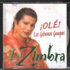 CDs de Música: ZIMBRA - ¡OLE LOS GITANOS GUAPOS ! / CD ALBUM DE 1999 / MUY BUEN ESTADO RF-9379. Lote 263639260