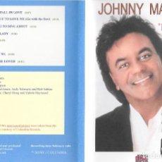 CDs de Música: JOHNNY MATHIS - I LOVE MY LADY. Lote 248359280