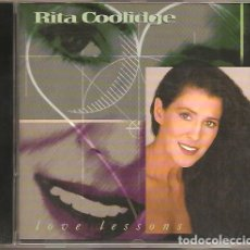 CDs de Música: RITA COOLIDGE - LOVE LESSONS. Lote 248359535