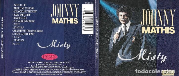 JOHNNY MATHIS - MISTY (Música - CD's Melódica )