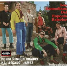 CD de Música: LOS GRANADIANS DEL ESPACIO EXTERIOR - DONDE NINGÚN HOMBRE HA LLEGADO JAMAS. Lote 248435175