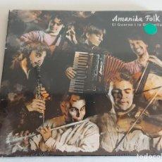 CDs de Música: AMANIDA FOLK / EL GUERXO I LA DONZELLA / DIGIPACK-CD - AXB-2008 / 11 TEMAS / PRECINTADO.. Lote 248617760
