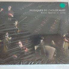 CDs de Música: BROSSA - QUARTET DE CORDA / MÚSIQUES DE L'HOLOCAUST / DIGIPACK-CD / 36 TEMAS / PRECINTADO.. Lote 248621465