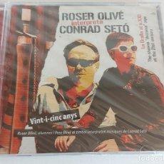 CDs de Música: ROSER OLIVÉ INTERPRETA CONRAD SETÓ / LA GRALLA AL S. XXI / CD-2007 / PRECINTADO.. Lote 248622890