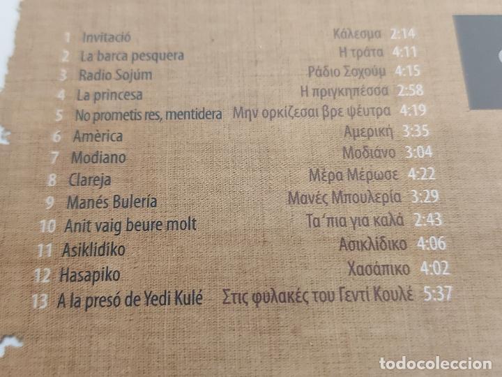 CDs de Música: ASÍKIDES / MÚSICA DE GRÈCIA / DIGIPACK-CD - TEMPSRECORD / 13 TEMAS / PRECINTADO. - Foto 3 - 248627120