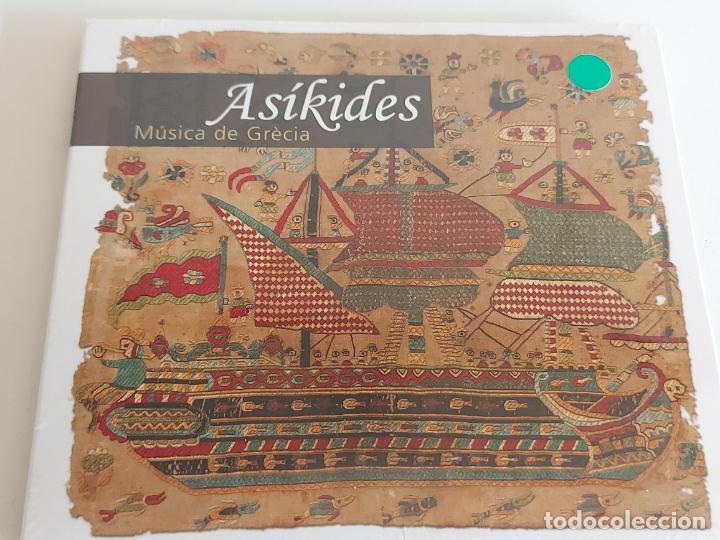 ASÍKIDES / MÚSICA DE GRÈCIA / DIGIPACK-CD - TEMPSRECORD / 13 TEMAS / PRECINTADO. (Música - CD's World Music)