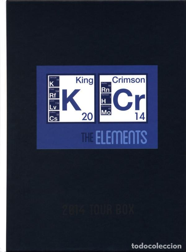KING CRIMSON / CAJA DE GIRA THE ELEMENTS 2014 (Música - CD's Rock)