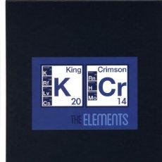 CDs de Música: KING CRIMSON / CAJA DE GIRA THE ELEMENTS 2014. Lote 248658405