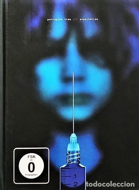 PORCUPINE TREE - ANESTHETIZE- DIGIBOOK DE EDICIÓN LIMITADA (Música - CD's Rock)