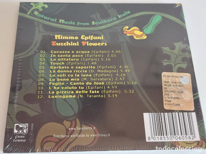 CDs de Música: MIMMO EPIFANI / ZUCCHINI FLOWERS / DIGIPACK-CD - FINISTERRE / 12 TEMAS / PRECINTADO. - Foto 2 - 248692330