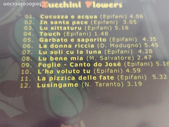 CDs de Música: MIMMO EPIFANI / ZUCCHINI FLOWERS / DIGIPACK-CD - FINISTERRE / 12 TEMAS / PRECINTADO. - Foto 3 - 248692330