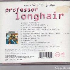 CDs de Música: PROFESSOR LONGHAIR. ROCK´N ROLL GUMBO. JAMBALAYA, BOOGIE, ETC. LUISIANA (USA).. Lote 248809105