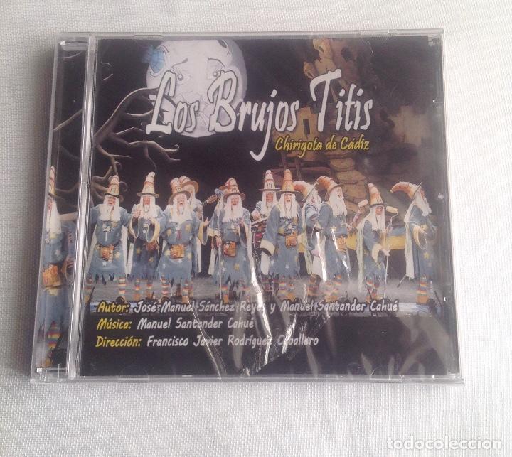 LOS BRUJOS TITIS, CHIRIGOTA DEL CARNAVAL DE CADIZ,, CD PRECINTADO. (Música - CD's Flamenco, Canción española y Cuplé)