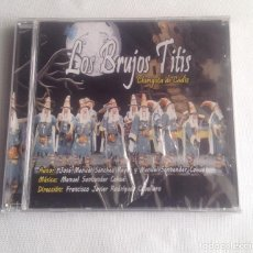 CDs de Música: LOS BRUJOS TITIS, CHIRIGOTA DEL CARNAVAL DE CADIZ,, CD PRECINTADO.. Lote 248965645