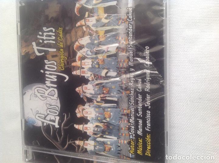 CDs de Música: LOS BRUJOS TITIS, CHIRIGOTA DEL CARNAVAL DE CADIZ,, CD PRECINTADO. - Foto 3 - 248965645
