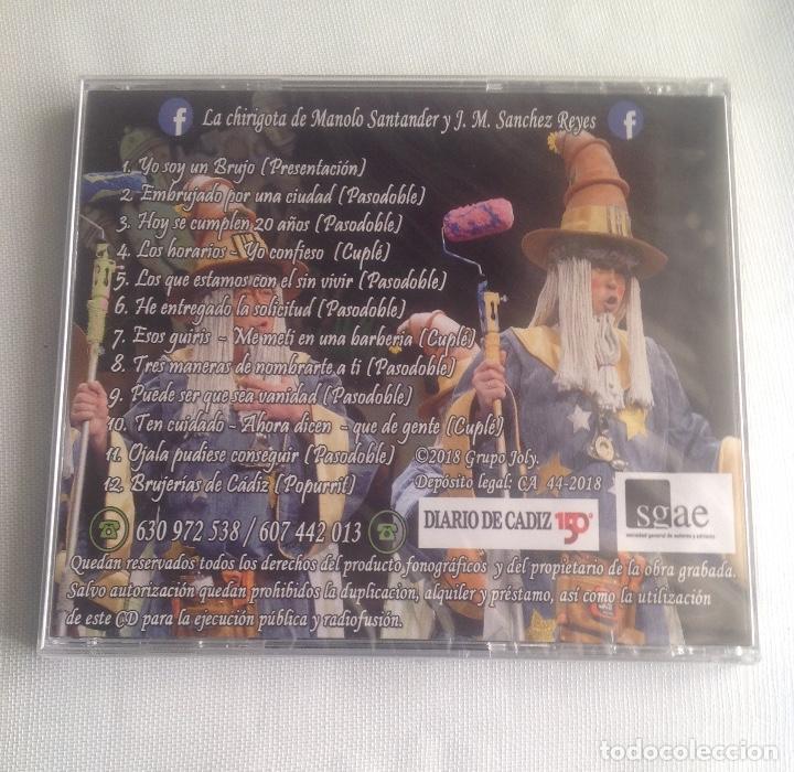 CDs de Música: LOS BRUJOS TITIS, CHIRIGOTA DEL CARNAVAL DE CADIZ,, CD PRECINTADO. - Foto 4 - 248965645