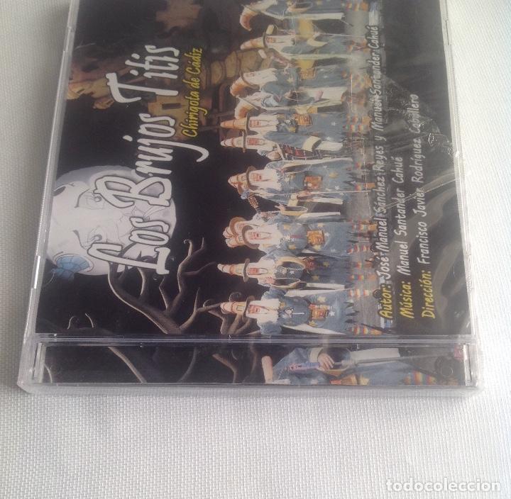 CDs de Música: LOS BRUJOS TITIS, CHIRIGOTA DEL CARNAVAL DE CADIZ,, CD PRECINTADO. - Foto 6 - 248965645