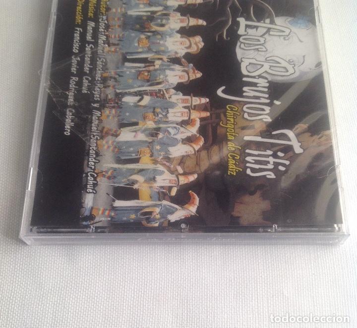 CDs de Música: LOS BRUJOS TITIS, CHIRIGOTA DEL CARNAVAL DE CADIZ,, CD PRECINTADO. - Foto 7 - 248965645