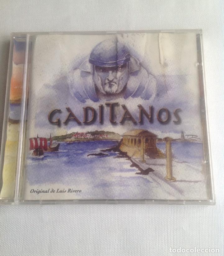 GADITANOS, COMPARSA DE CADIZ DE LUIS RIVERO, CD PRECINTADO. (Música - CD's Flamenco, Canción española y Cuplé)