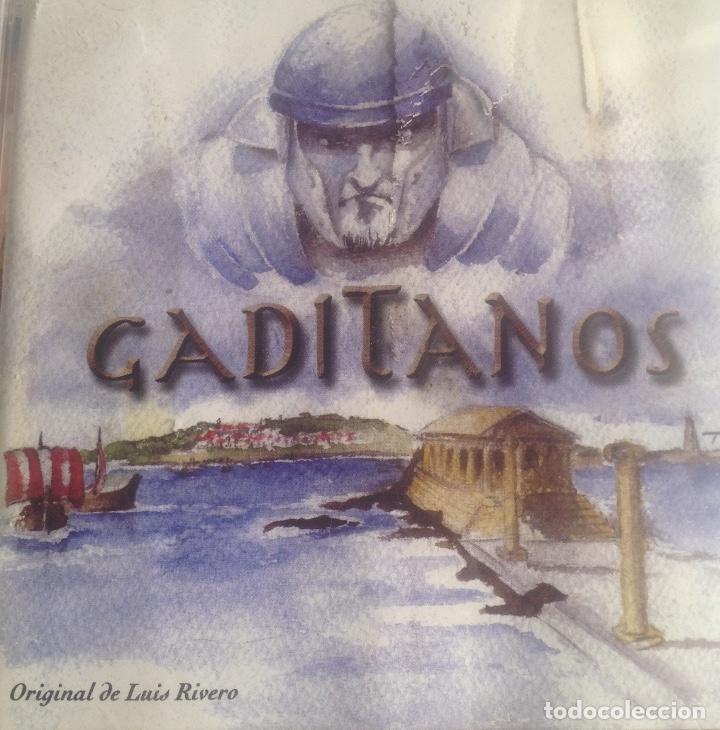 CDs de Música: GADITANOS, COMPARSA DE CADIZ DE LUIS RIVERO, CD PRECINTADO. - Foto 2 - 248966190
