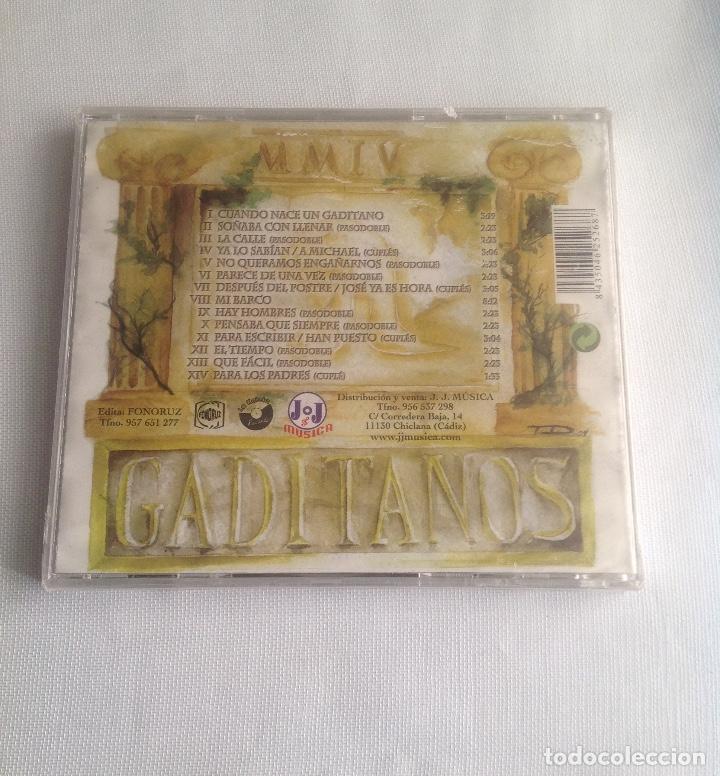 CDs de Música: GADITANOS, COMPARSA DE CADIZ DE LUIS RIVERO, CD PRECINTADO. - Foto 3 - 248966190