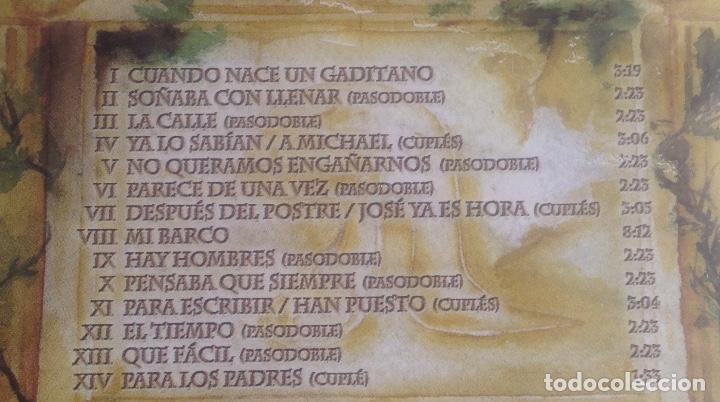 CDs de Música: GADITANOS, COMPARSA DE CADIZ DE LUIS RIVERO, CD PRECINTADO. - Foto 4 - 248966190
