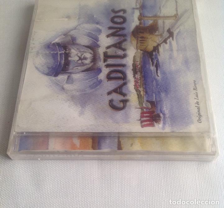 CDs de Música: GADITANOS, COMPARSA DE CADIZ DE LUIS RIVERO, CD PRECINTADO. - Foto 5 - 248966190