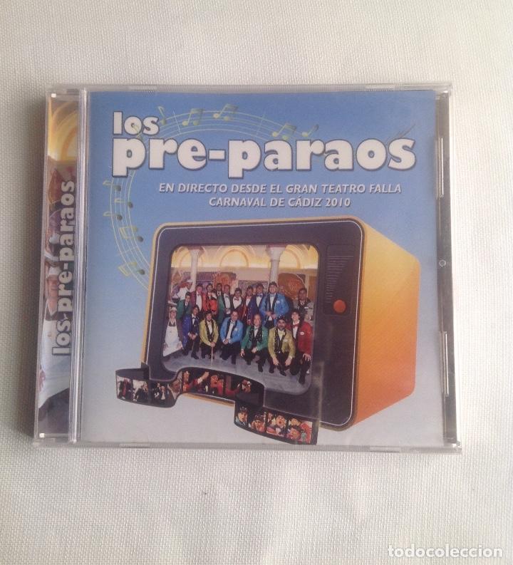 CDs de Música: LOS PRE-PARAOS, CHIRIGOTA DE CARNAVAL CADIZ, CD PRECINTADO. - Foto 2 - 248966840