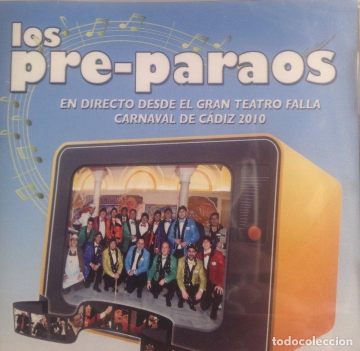 LOS PRE-PARAOS, CHIRIGOTA DE CARNAVAL CADIZ, CD PRECINTADO. (Música - CD's Flamenco, Canción española y Cuplé)