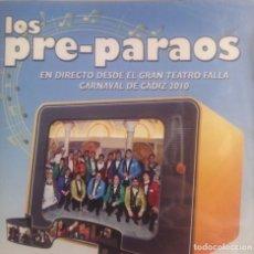 CDs de Música: LOS PRE-PARAOS, CHIRIGOTA DE CARNAVAL CADIZ, CD PRECINTADO.. Lote 248966840