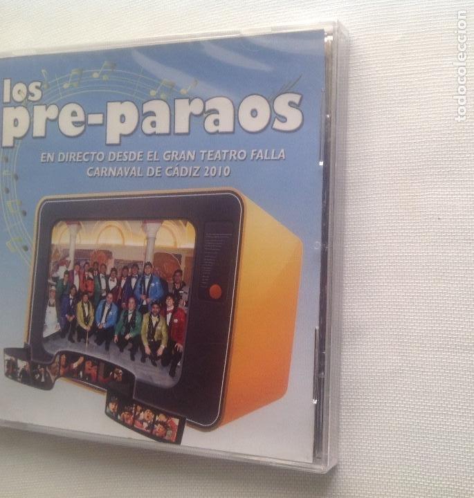 CDs de Música: LOS PRE-PARAOS, CHIRIGOTA DE CARNAVAL CADIZ, CD PRECINTADO. - Foto 4 - 248966840