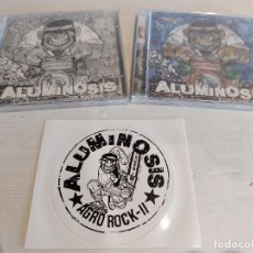 CDs de Música: ALUMINOSIS / AGRO ROCK II / CD ÁLBUM + CD EXTRA + PEGATINA / PRECINTADOS A ESTRENAR.. Lote 248967980