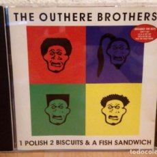 CDs de Música: THE OUTHERE BROTHERS: 1 POLISH 2 BISCUITS & A FISH SANDWICH *MUY BUEN ESTADO*. Lote 249049105