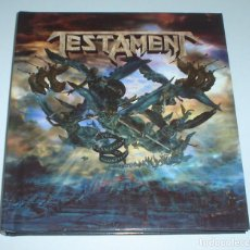 CDs de Música: TESTAMENT - THE FORMATION OF DAMNATION DIGIBOOK CD + DVD. Lote 249113360