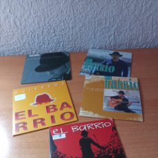CD de Música: LOTE 5 CD SINGLE PROMO EL BARRIO. Lote 249137475