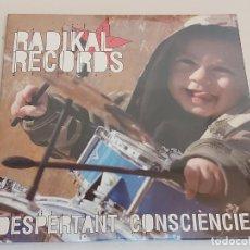 CDs de Música: RADIKAL RECORDS / DESPERTANT CONSCIÈNCIES / VARIOS GRUPOS / CD - EDR-2008 / 17 TEMAS / PRECINTADO.. Lote 249151435