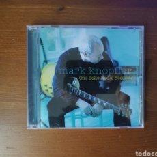 CD de Música: CD. MARK KNOPFLER (DIRE STRAITS), ONE TAKE RADIO SESSIONS. Lote 249170080