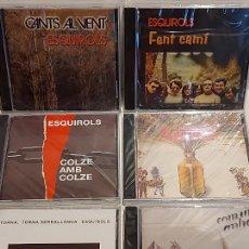 CDs de Música: ESQUIROLS / SUS 6 ÁLBUMS PUBLICADOS / TODO PRECINTADO / OCASIÓN !!. Lote 275637733