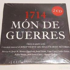 CDs de Música: 1714 / MÓN DE GUERRES / OPERA EN QUATRE ACTES / DOBLE CD-2004 / PRECINTADO.. Lote 249218915