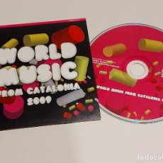CDs de Música: WORLD MUSIC FROM CATALONIA 2009 / CD-PROMO-2008 / 18 TEMAS / IMPECABLE.. Lote 249231135