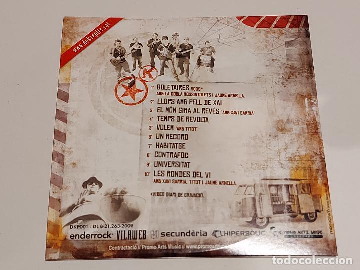 CDs de Música: DEKRÈPITS / ELS BOLETAIRES DE LEMPORDÀ / CD - DKP-2009 / 10 TEMAS + VIDEO / IMPECABLE. - Foto 2 - 249272575