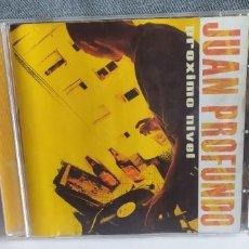 CDs de Música: JUAN PROFUNDO -PROXIMO NIVEL BUEN ESTADO. Lote 249313040
