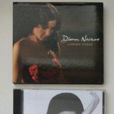 CDs de Música: LOTE 2 CD - DIANA NAVARRO : CAMINO VERDE (DIGIPACK) / 24 ROSAS. Lote 249315810