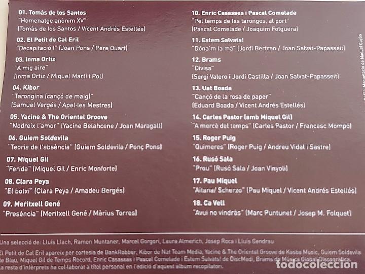 CDs de Música: TERRA I CULTURA / IV PREMI MIQUEL MARTÍ I POL / LIBRO+CD / ED: COSSETANIA-2012 / NUEVO. - Foto 6 - 249319470