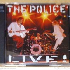 CDs de Música: THE POLICE (LIVE!) 2 CD'S 1995. Lote 249338490