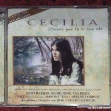 CDs de Música: CECILIA (DESDE QUE TU TE HAS IDO) 2 CD'S 1996. Lote 249346465